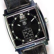TAG Heuer Monaco Lady Steel 36mm Black No numerals