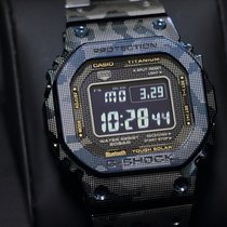 Casio G-Shock GMW-B5000TCF-2JR Muy bueno Titanio 43.2mm Cuarzo