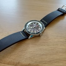 Rado HyperChrome Captain Cook pre-owned Brown Date Leather