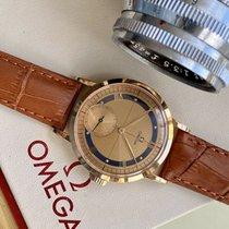 Omega Růžové zlato 35.5mm Ruční natahování nové