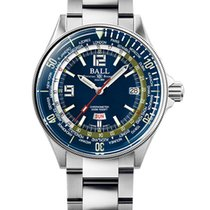 Ball Engineer Master II Diver Steel 42mm Blue No numerals