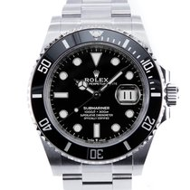 Rolex Submariner Date neu 2021 Automatik Uhr mit Original-Box und Original-Papieren 126610LN
