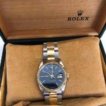 Rolex 16233 Золото/Cталь 1998 Datejust 36mm подержанные