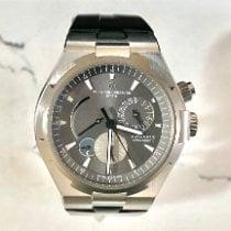 Vacheron Constantin Overseas Dual Time Steel 42mm Grey No numerals