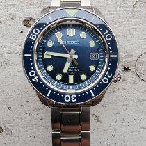 Seiko Marinemaster pre-owned 44.5mm Blue Date Steel