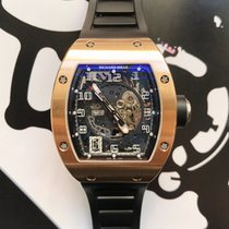 Richard Mille RM 010 Oro rosa 48mm Transparente