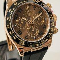 Rolex Daytona Růžové zlato 40mm Hnědá