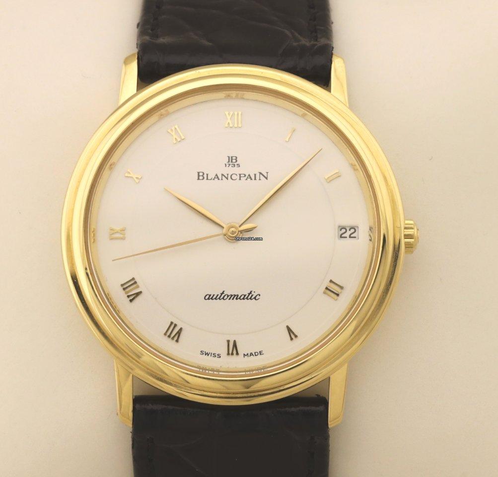 Blancpain Villeret Ultra-Slim 0095-1418 1989 подержанные