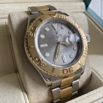 Rolex Yacht-Master 40 Gold/Steel 40mm Silver No numerals United States of America, California, Cypress