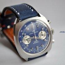 Jaquet-Droz подержанные Механические 37mm Синий Плексиглас Не водонепроницаемые