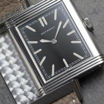 Jaeger-LeCoultre Grande Reverso Ultra Thin 1931 Stahl Schwarz