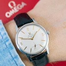 Omega Seamaster gebraucht 35mm Weiß Leder