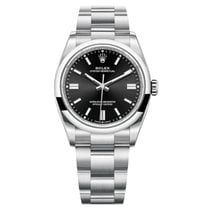 Rolex Oyster Perpetual 36 Steel Black United States of America, New York, New York