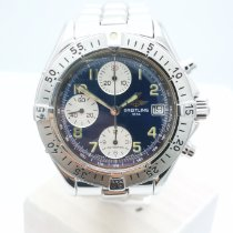 Breitling Colt Chronograph Automatic pre-owned Blue Chronograph Date Steel