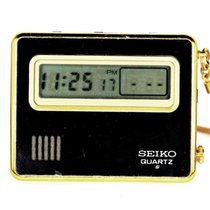 Seiko Plastic Quartz Black pre-owned