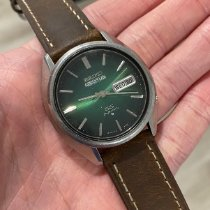 Seiko 5 Steel 36mm Green