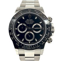 Rolex Steel Automatic Black No numerals 40mm new Daytona