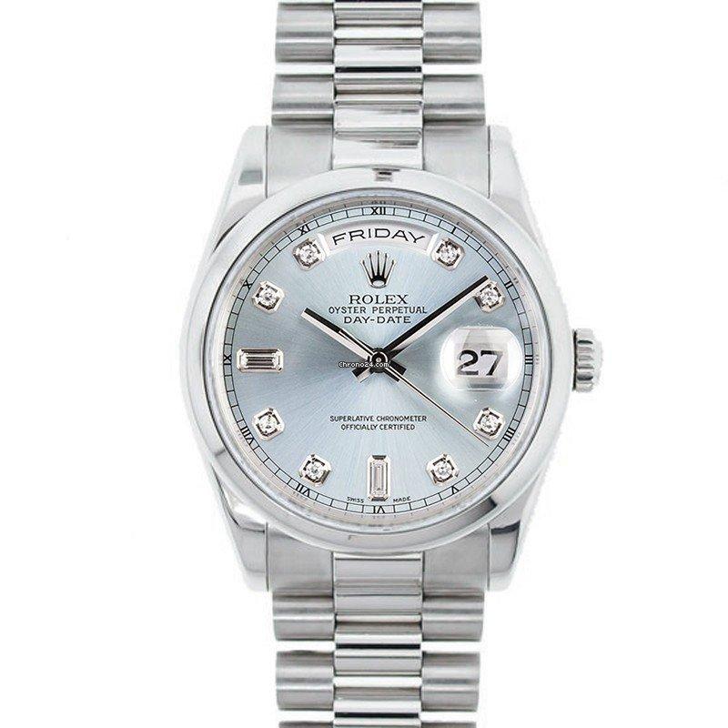 Rolex Day-Date 36 118206 новые