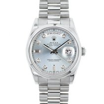 Rolex 118206 Platinum Day-Date 36 36mm new United States of America, New York, New York