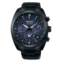 Seiko Astron GPS Solar Steel 42.7mm Black