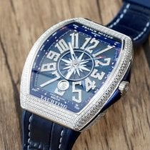 Franck Muller Vanguard Steel Blue