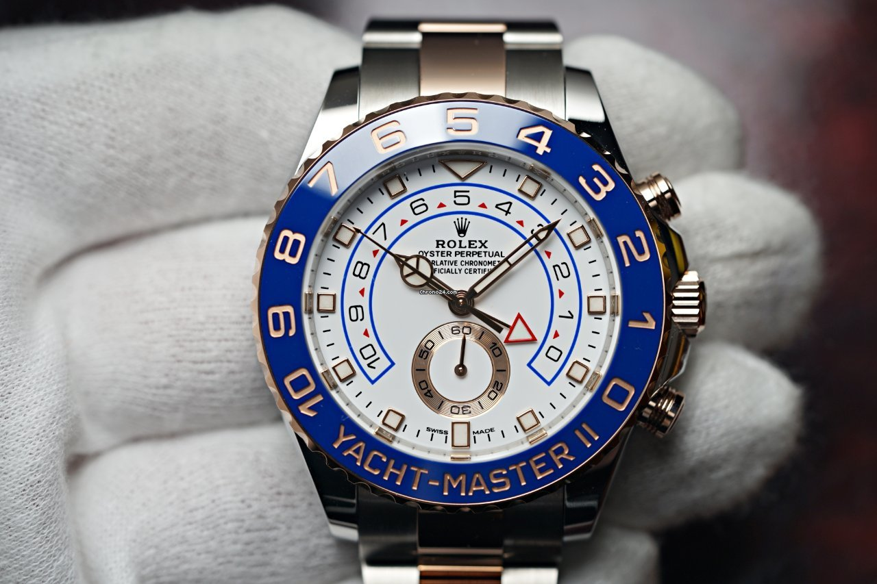 Rolex Yacht-Master II 116681 2021 novo