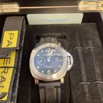 Panerai Luminor Submersible Steel 44mm Black Arabic numerals Australia, Applecross