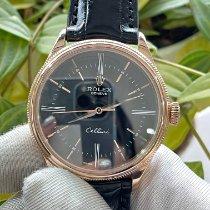 Rolex 50505 Pозовое золото Cellini Time 39mm подержанные