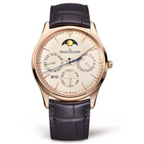 Jaeger-LeCoultre Master Ultra Thin Perpetual Roségold 39mm Champagnerfarben Keine Ziffern