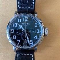 Zenith Pilot Type 20 Annual Calendar Сталь 48mm Черный Aрабские