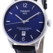 Tissot Chemin de Tourelles Сталь 42mm Синий