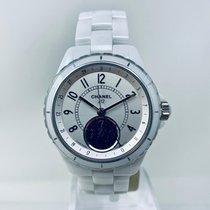 Chanel J12 Ceramic 38mm Silver