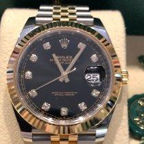 Rolex Datejust 126333-0006 Nenošeno Zlato/Zeljezo 41mm Automatika