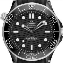 Omega Cerámica Automático Gris 43.5mm nuevo Seamaster Diver 300 M