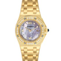 Audemars Piguet Yellow gold Quartz Mother of pearl Roman numerals 29mm pre-owned Royal Oak Offshore