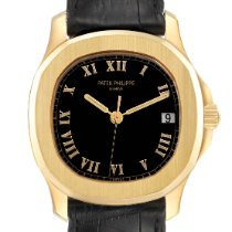 Patek Philippe Yellow gold Automatic Black Arabic numerals 36mm pre-owned Aquanaut