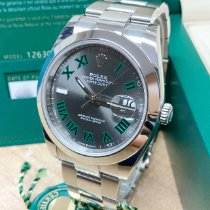 Rolex Datejust Steel 41mm Grey Roman numerals United Kingdom, Wilmslow