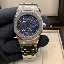 Audemars Piguet Royal Oak Dual Time 26120ST.OO.1220ST.02 Very good Steel 39mm Automatic