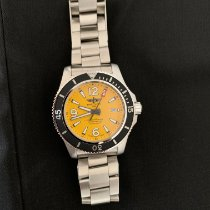 Breitling pre-owned Automatic 44mm Yellow Sapphire crystal 100 ATM