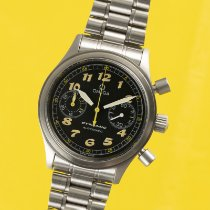 Omega Dynamic Chronograph Stål 38mm Svart