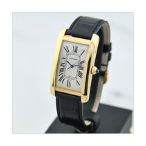 Cartier Tank Américaine Yellow gold 26,5mm White Roman numerals