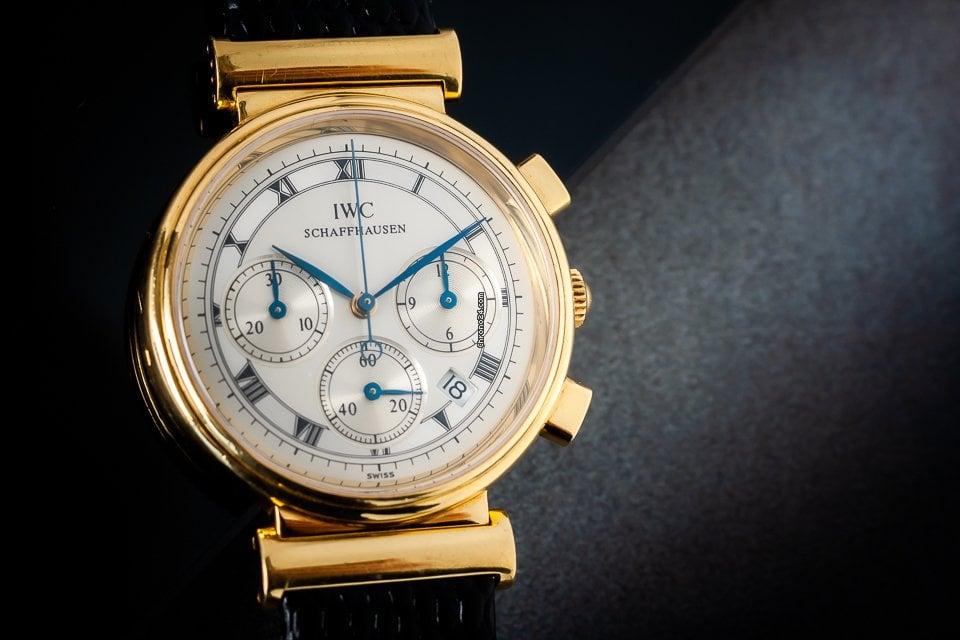 IWC Da Vinci Chronograph 3739 подержанные