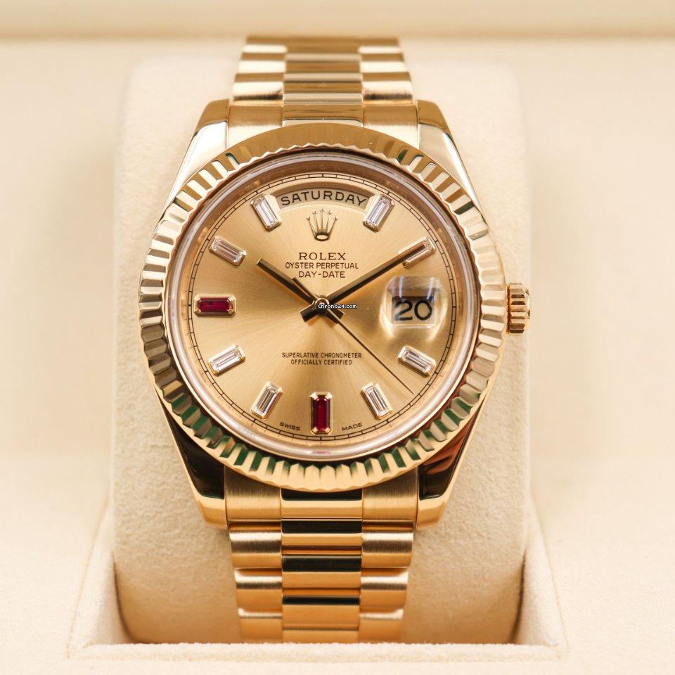Rolex (ロレックス) デイデイト II 218238 新品
