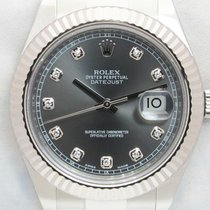 Rolex Datejust II usato 41mm Grigio Acciaio