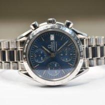 Omega Speedmaster Date Acier 39mm Bleu Sans chiffres
