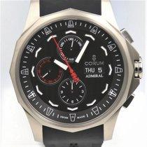 Corum Admiral's Cup (submodel) nuevo 2021 Automático Cronógrafo Reloj con estuche y documentos originales A077/04176