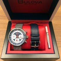 Bulova Steel 46mm Quartz 96K101 new