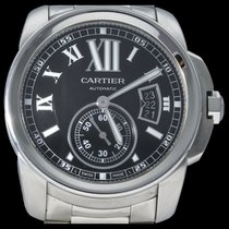 Cartier W7100016 Steel 2014 Calibre de Cartier 42mm pre-owned