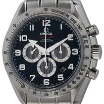 Omega Speedmaster Broad Arrow Steel 44mm Black Arabic numerals United States of America, Texas, Austin
