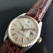 Rolex Oyster Perpetual Date Очень хорошее Золото/Cталь 35mm Автоподзавод
